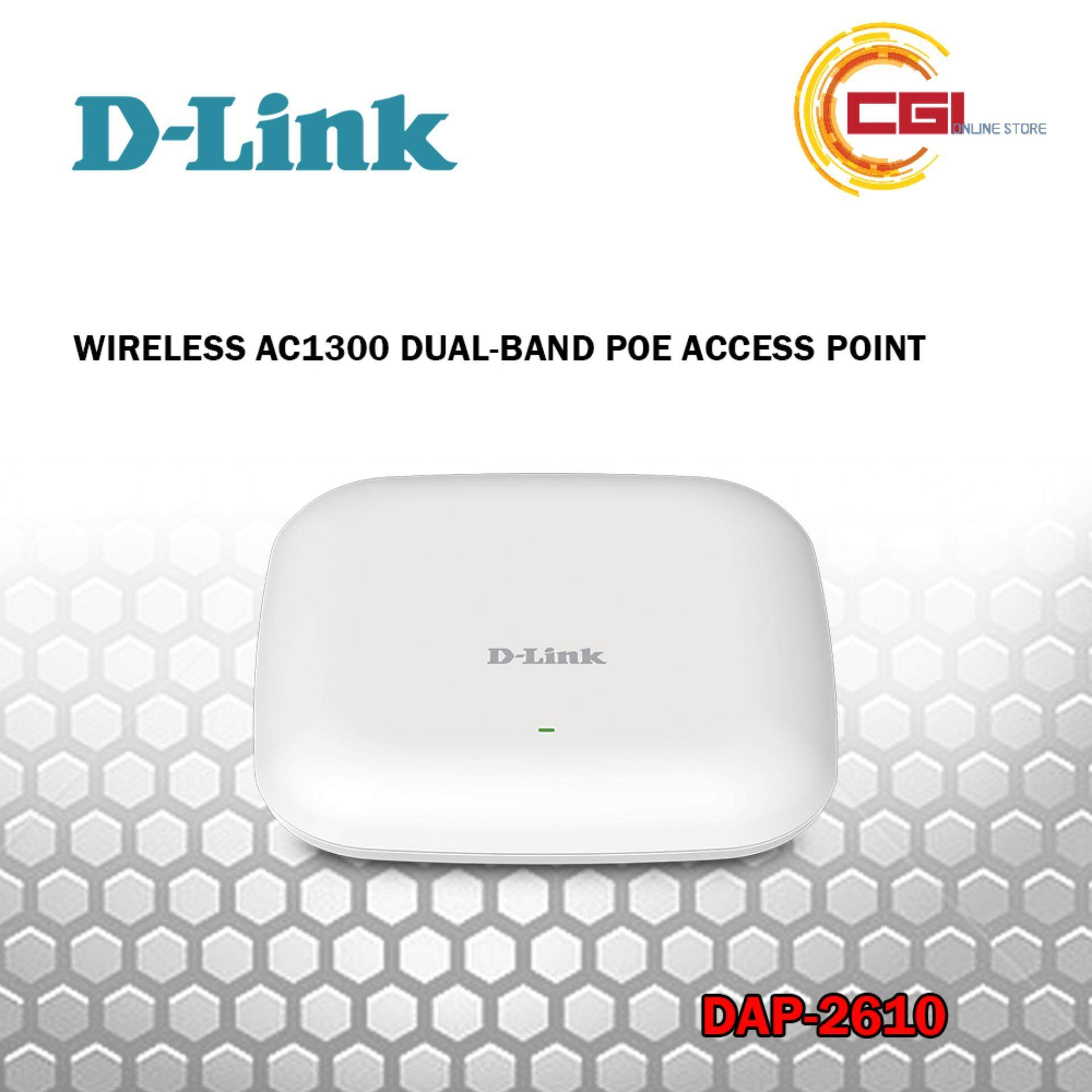 D-Link DAP-2610 Wireless AC1300 Dual-Band POE Access Point
