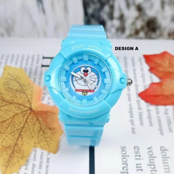 ICE Kids/Childrens Sport and Casual Hello Kitty & Stitch Design Analog Watches + Watch Box Best Gift for Kids Jam Tangan Malaysia