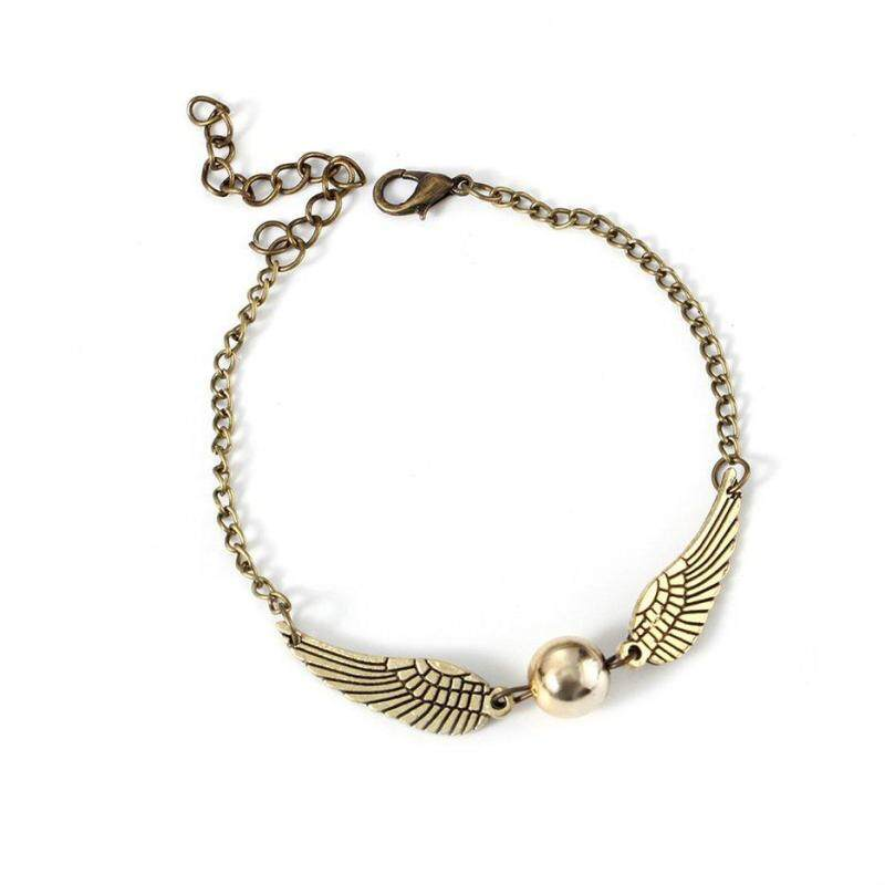 Hot Sellers Jewelry Woman Retro Snitch Pocket Pulseras Wings Kids Bracelet Girls Malaysia