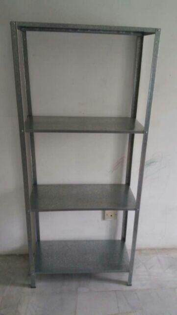 [Ready Stock] IKEA HYLLIS Shelving unit, in/outdoor galvanised