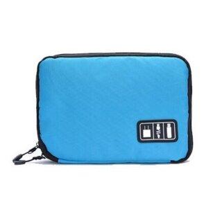 Xách Tay Nylon Dây Kéo Kỹ Thuật Số USB Sạc, Túi Đựng Tai Nghe Túi Đựng Đồ thumbnail