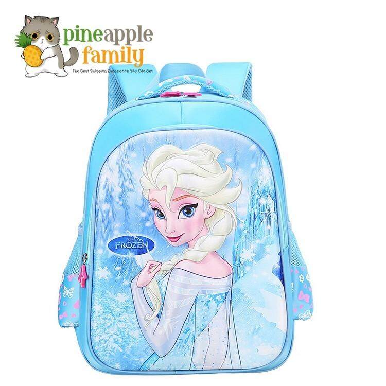 3d 16inch Princess Cartoon Design Children School Bags For Girls By Pineapple Family.