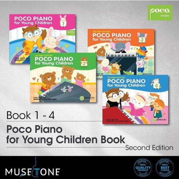 Poco Piano for Young Children Book 1-4 Malaysia