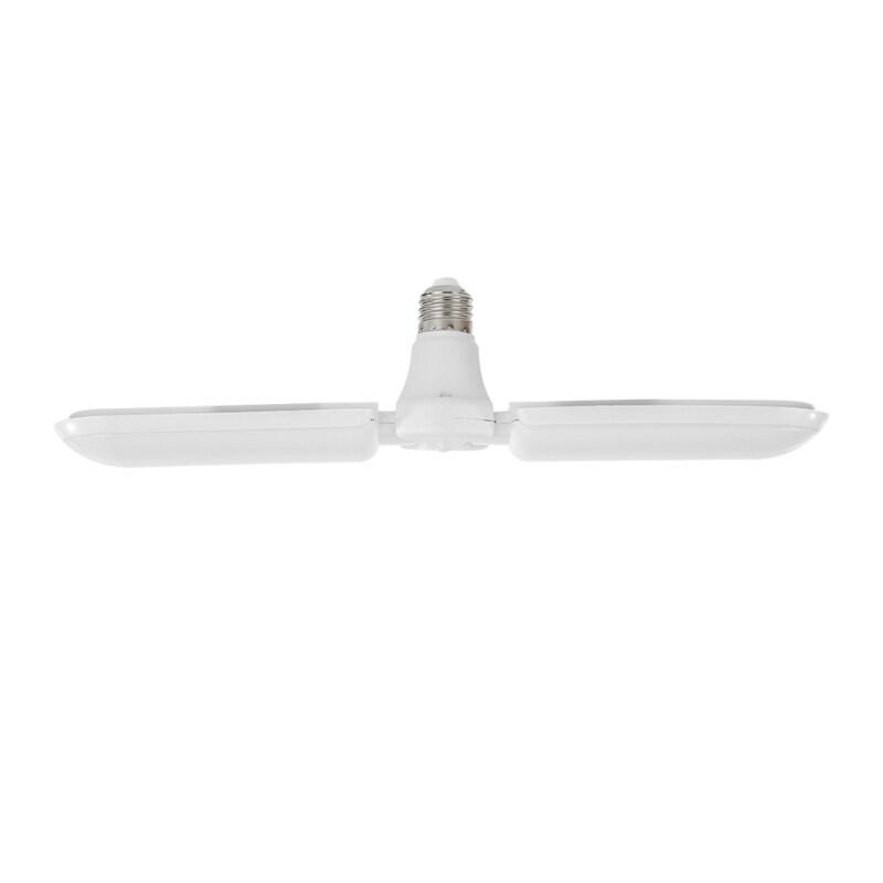 Quạt LED Lá 1/2/3 Nhà Để Xe Biến Dạng Đèn, Chiếu Sáng Công Nghiệp Cho Xưởng