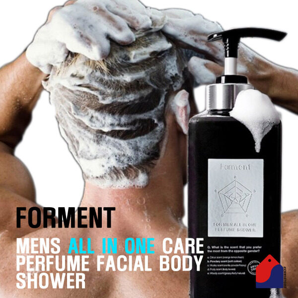 Buy FORMENT FOR MEN ALL IN ONE PERFUME SHOWER 500ml Singapore
