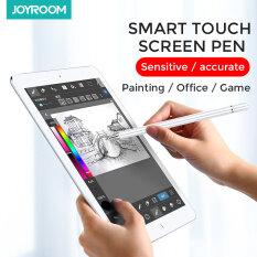Joyroom Stylus Pen Pen Cảm Ứng Cho Apple Bút Chì Pro 11 12.9 9.7 2018 Không Khí 3 10.2 2019 Min Thông Minh Điện Dung Bút Chì Stylus Bút Cho Ipad Bút Cảm Ứng Android IOS Máy Tính Bảng