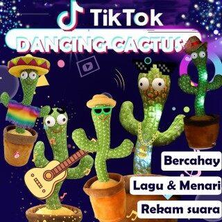 Xương rồng nhảy múa biết hát 120 bài hát vui nhộn Cây xương rồng nhại lại giọng nói 120 bài hát tiktok thumbnail