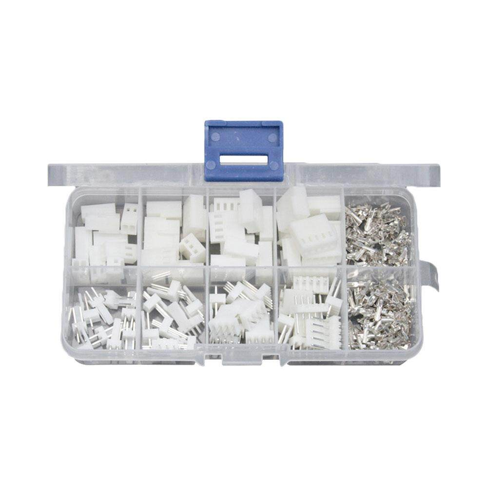150pcs XH-2.54mm Male Female Housing Connectors Electric Wire Bare Terminal Connectors with Storage Box
