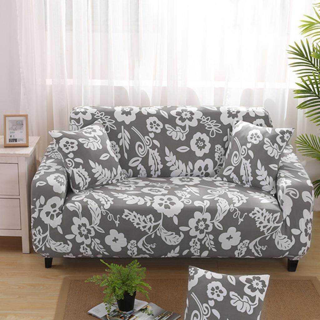 Perfk Stretch 3 Seater Sofa Cover Chair
