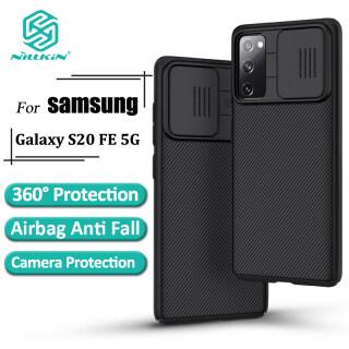 Nillkin Fashion Pc Case cho Samsung Galaxy S20 FE S20 Fan Edition 5G Bảo vệ máy ảnh Bảo mật Mặt sau Ốp lưng Phong cách Doanh nhân thumbnail