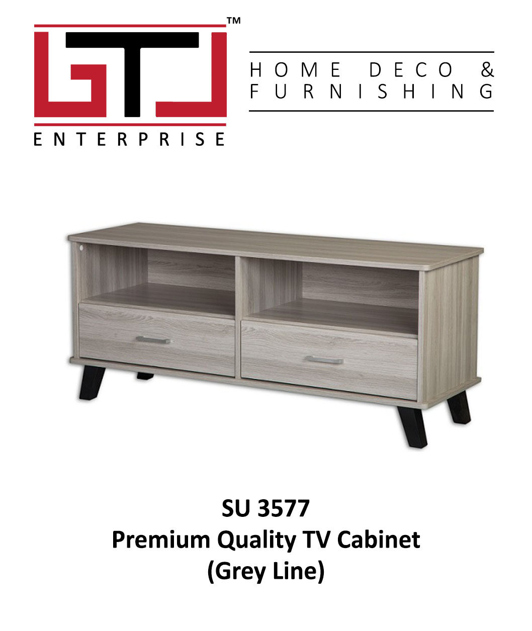 Premium Quality Wooden 4 Ft Tv Cabinet
