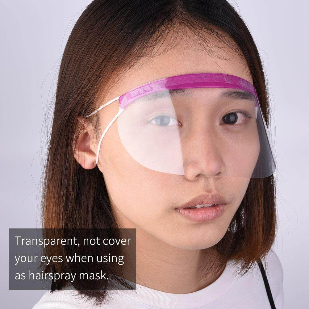 Styling Accessories 50 Pcs Professional Hair Eye Protector Mask Transparent Plastic Hairdressing Cover For Customer Hairs Styling Accessories Styling Tools