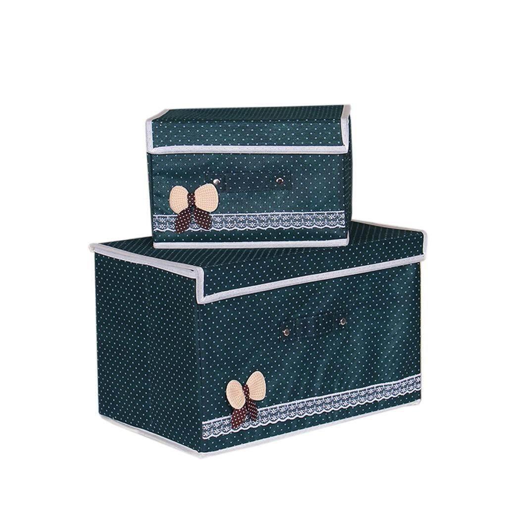 BolehDeals Non-Woven Foldable Storage Bins Box Containers Organizer