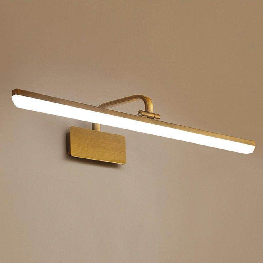 Hot Deals American Style LED Toilet Bathroom Mirror Light Front Make Up Wall Lamp