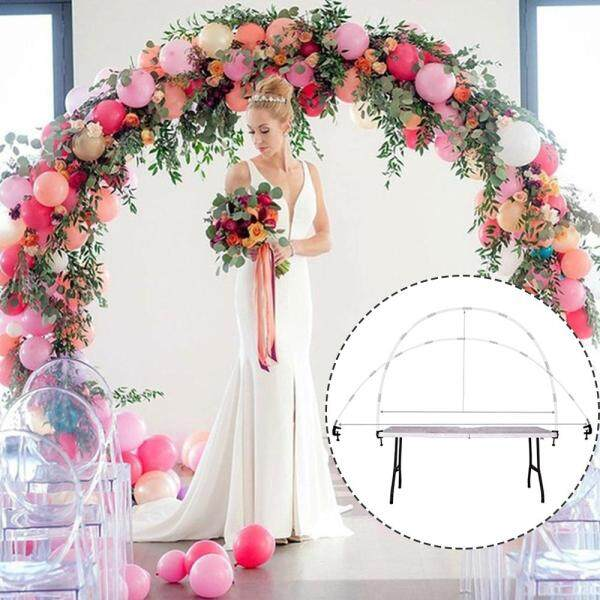 Display Kit Wedding Party Decor Balloon Column Arch Set Upright Base Pole Stand