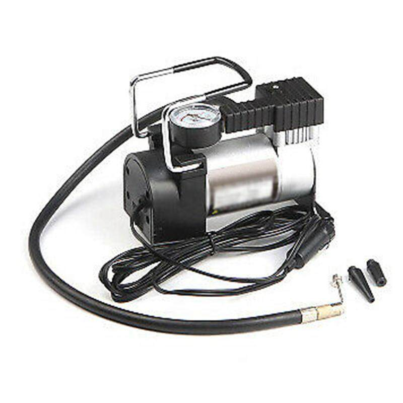 4Pcs/Set Portable 12V Car Tire Inflator Pump Air Compressor RV Heavy Truck Cars Motorcycle Tricycle Tires