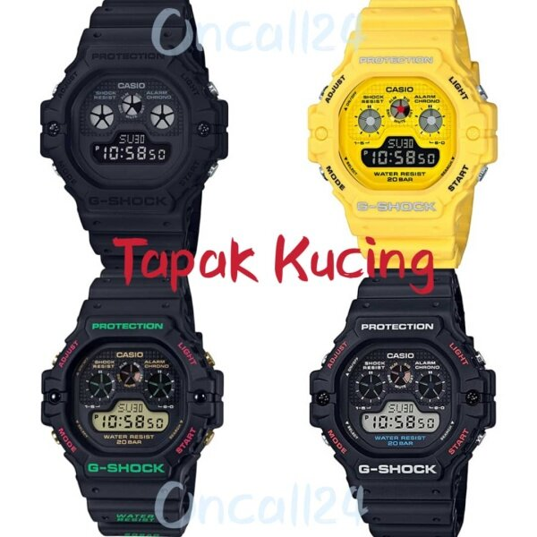 G Style Shock Tapak Kucing Multi Colors Dw 5900 Malaysia