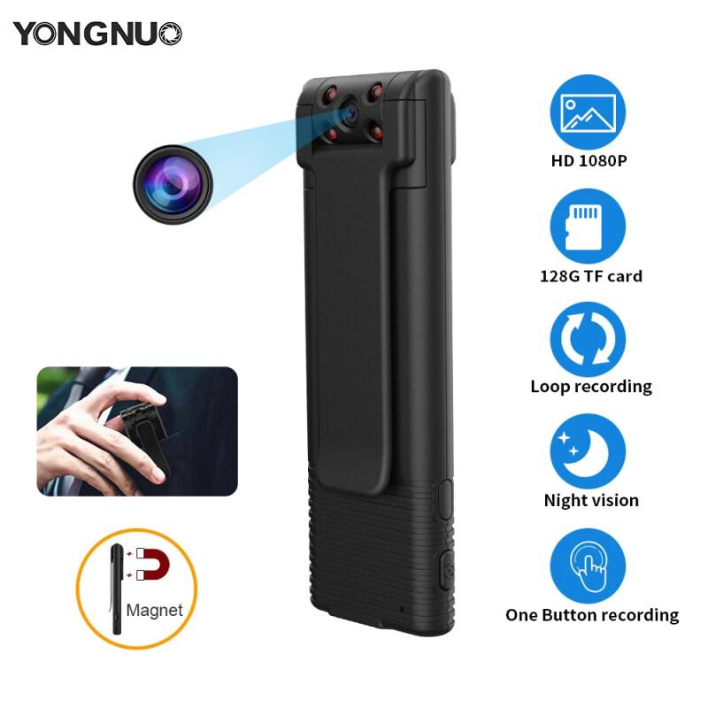 Camera Mini YongNuo HD 1080P, Máy Quay Video Kỹ Thuật Số Cầm Tay Máy Ảnh Cơ Thể, Tầm Nhìn Ban Đêm Ghi Thu Nhỏ Nam Châm Máy Quay Phim