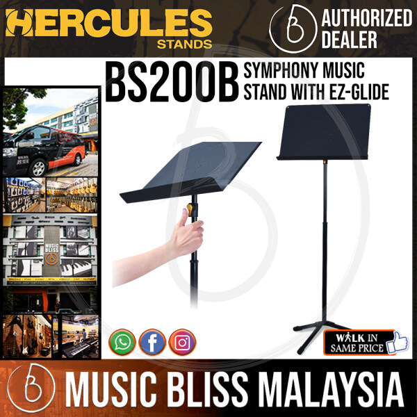Hercules BS200B Symphony Music Stand with EZ-Glide Malaysia