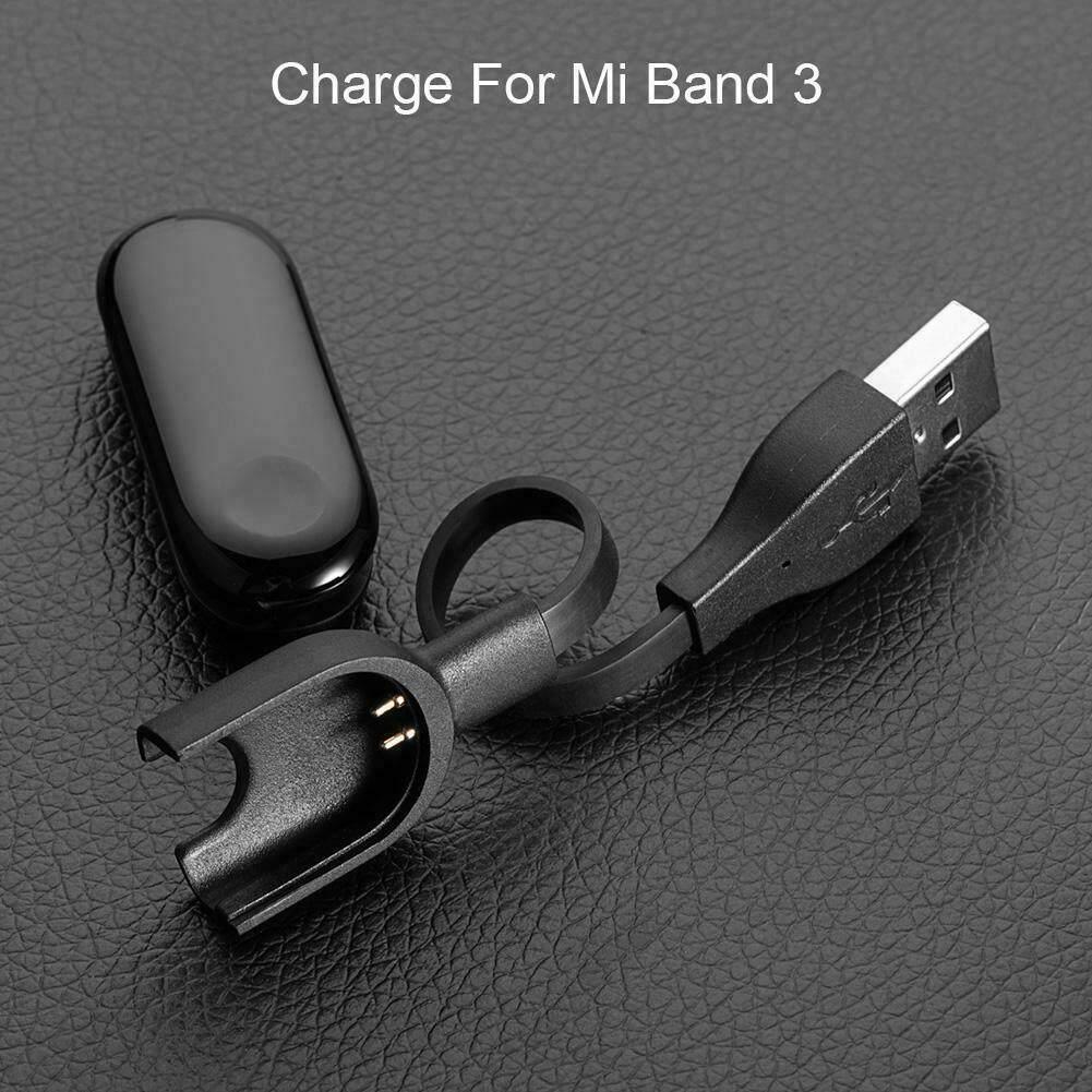 Xiaomi MiBand 3 4 5 Dây Sạc Thay Thế USB ChargingAdapter, Dành Cho Xiaomi Mi Band 3 4 5 Thiết Bị Theo Dõi Sức Khỏe Vòng Đeo Tay Thông Minh Dây Đeo Cổ Tay Đồng Hồ