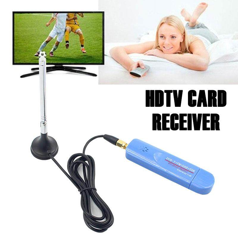 Durable Satellite TV Receiver RTL-SDR ABS USB2.0 RTL2832U Digital Video Home Audio Crystal Tv Cards Receiver TV Antenna Parts DVB-T Receiver SDR Receiver