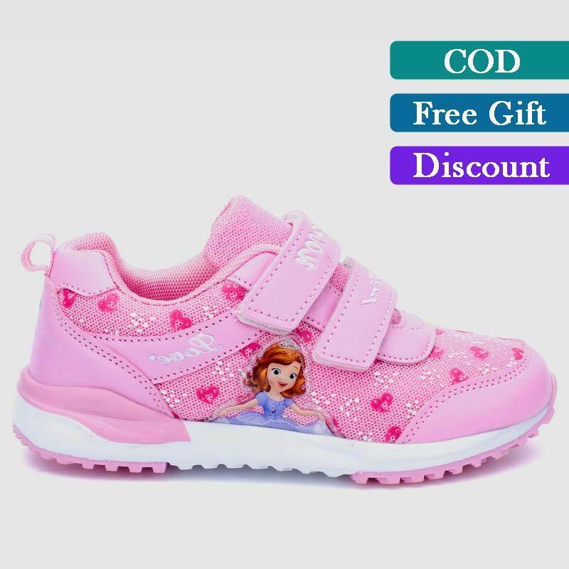 Giá bán Mới Đến Bé Gái Giày Không trượt Mềm Đế Giày Ngoài Trời Lưới Thoáng Khí Giày Thể Thao dành cho Trẻ Em (Hoa Hồng, hồng, Tím)