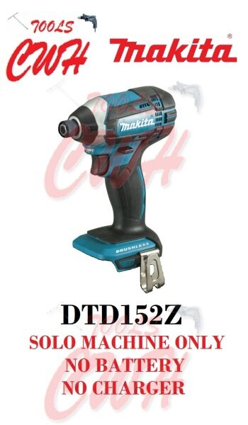 MAKITA DTD152 18V 165NM Cordless Impact Driver DTD152RME DTD152RFE DTD152Z XPT
