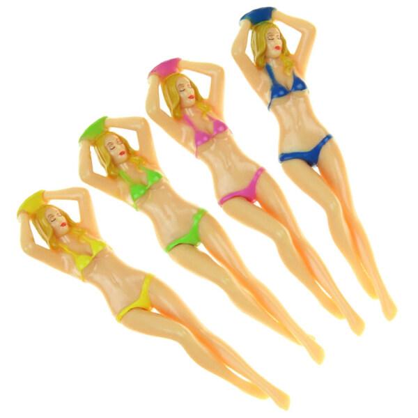 Áo Thun Chơi Gôn Nữ Bằng Nhựa 3 Inch Pin Mới Lạ Bikini Golf Tees Lady Golf Tee Golf Thực Hành
