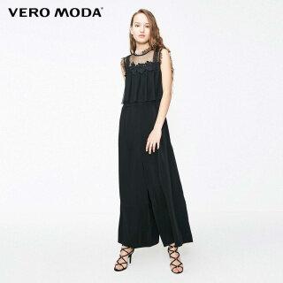 Vero Moda Áo Liền Quần Nữ Thêu Không Tay Ghép Mảnh 319344505 thumbnail