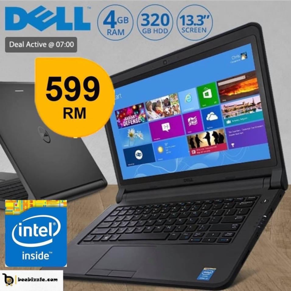 DELL LATITUDE 3150 LAPTOP,4GB RAM, 320 GB HDD,WEBCAM,WINDOWS 8,13.1 INCH AND MORE.. Malaysia
