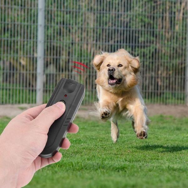Siêu Âm Dog Repeller Thiết Bị Huấn Luyện Động Vật Pet Huấn Luyện Chống Sủa
