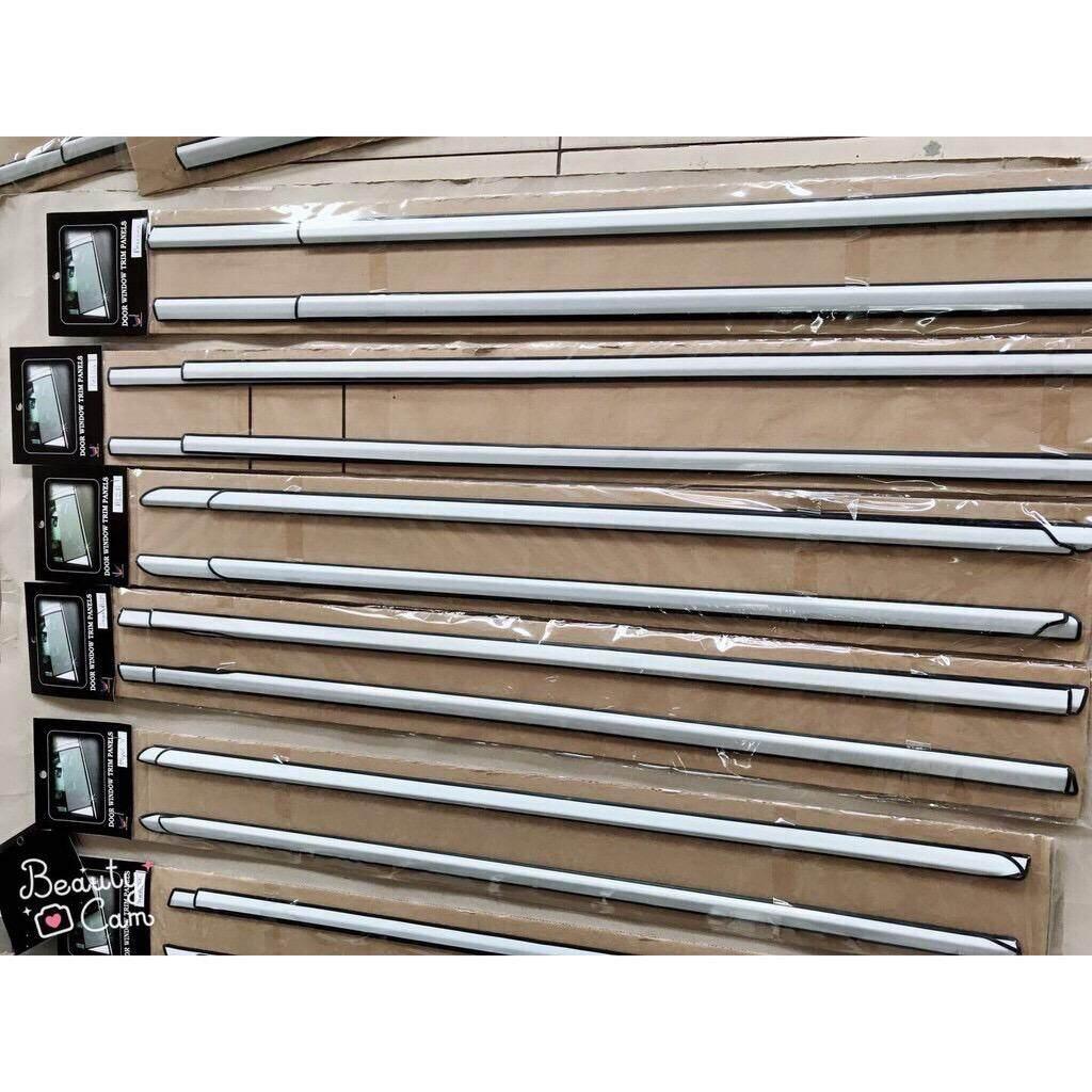 KANCIL Perodua Window Trim Chrome Lining Door Belt Moulding 4PCS