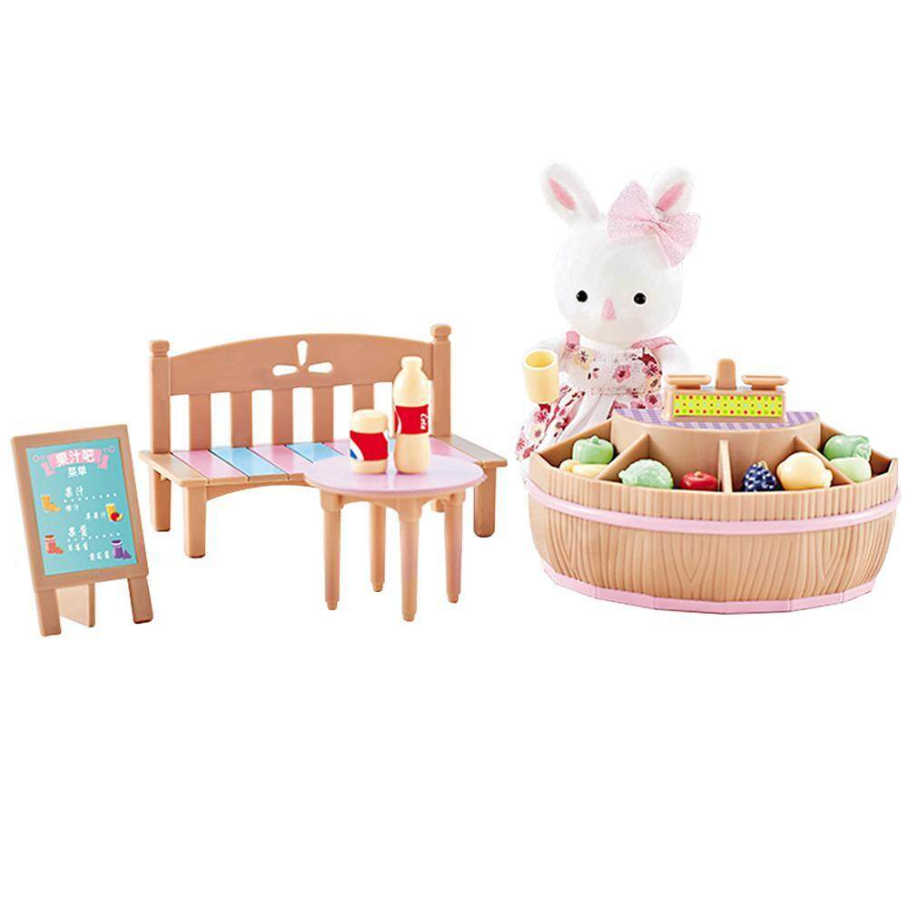 Easy Fun Children's play house toy kitchen set, cooking dessert shop ice cream outdoor barbecue