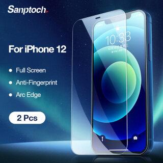 Miếng Dán Bảo Vệ Toàn Màn Hình Sanptoch Tấm Dán Bảo Vệ Viền Hồ Quang Mini Cho iPhone 12 11 Pro Max 12 thumbnail