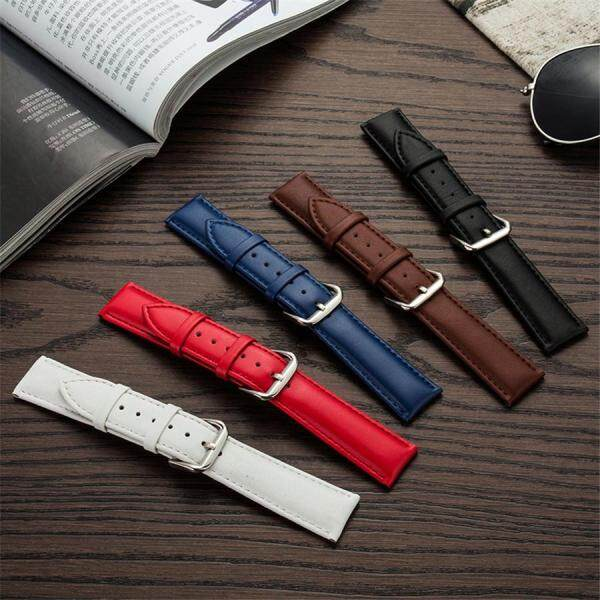 Genuine Leather Womens Watch Bands Strap 12mm 13mm 14mm 15mm 16mm 17mm 18mm 19mm 20m 21mm 22mm 23mm 24mm General Watch band Strap wrist gift Malaysia