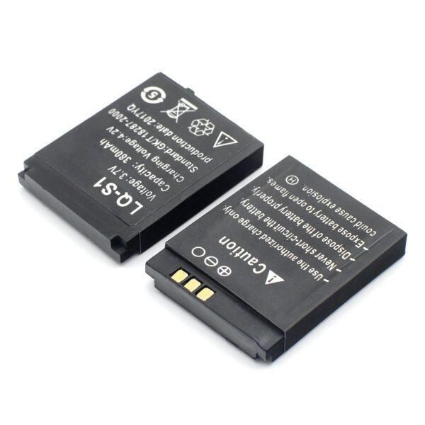 Giá 1/2/3/4/5/6/8/10 Cái 380MAh Sạc Li Polymer Li-ion Pin Cho DZ09 A1 W8 QW09 V8 X6 Thông Minh Xem Pin Điện Thoại Di Động