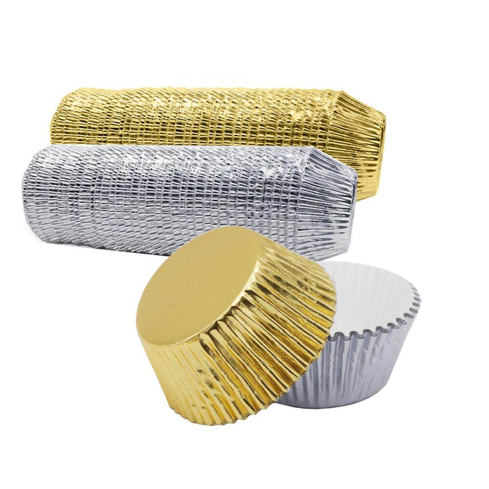 Party Supplies Liner Wrapper Paper Aluminium Foil Cake Cup Muffin Boxes Cupcake