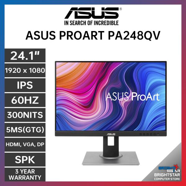 Monitor Pc ASUS ProArt Display PA248QV ( 24.1 / 1920 x 1080 / IPS / 75HZ / 300NITS / 5MS(GTG) / HDMI, VGA, DP / 3 Years Warranty ) Malaysia