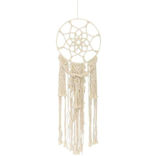 Macrame Wall Hanging Woven Tapestry Beautiful Wall Ornament for Home Bedroom Apartment Decorations
