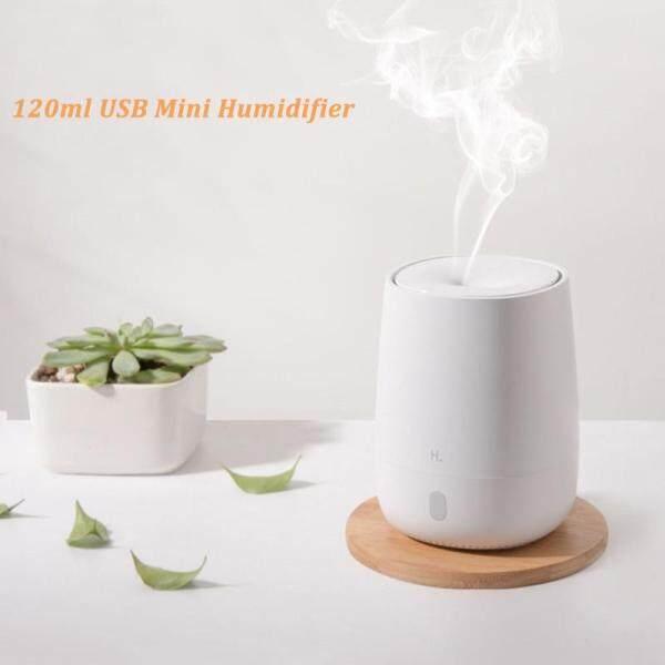 Bảng giá 120 Ml USB Mini Máy Làm Ẩm Không Khí Siêu Âm Essential Máy Khuếch Tán Tinh Dầu Hương Thơm Cho Xiaomi Youpin Câm Đèn LED Máy Tạo Sương Cho Nhà