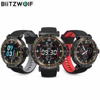 BlitzWolf BW-AT1 Đồng Hồ Thông Minh Cảm Ứng Toàn Màn Hình Vòng Đeo Tay Bluetooth Theo Dõi Oxy Huyết Áp Nhịp Tim Thời Tiết Màn Hình UI Dymanic thumbnail