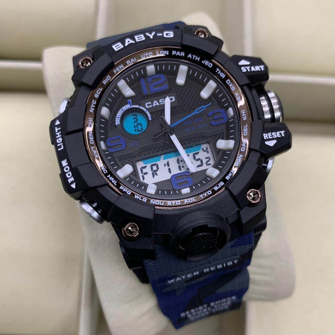 SPECIAL PROMOTION CASIO_ BABY.G_ DUAL WATCH FOR WOMENS(mudmaster) SPECIAL PROMOTION Malaysia