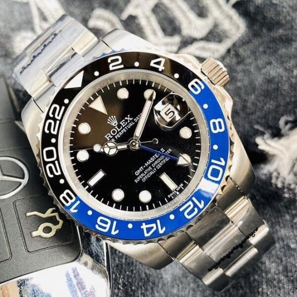 [14 Days Money Back Guarantee] High Quality Fashion Watch_GMT_ROLEX_Date-GMT_Master_II_Men Wrist Watch (Also Avail More Rolex_DAteJust_Submarine_Yacht_Master_Daytona_) Malaysia
