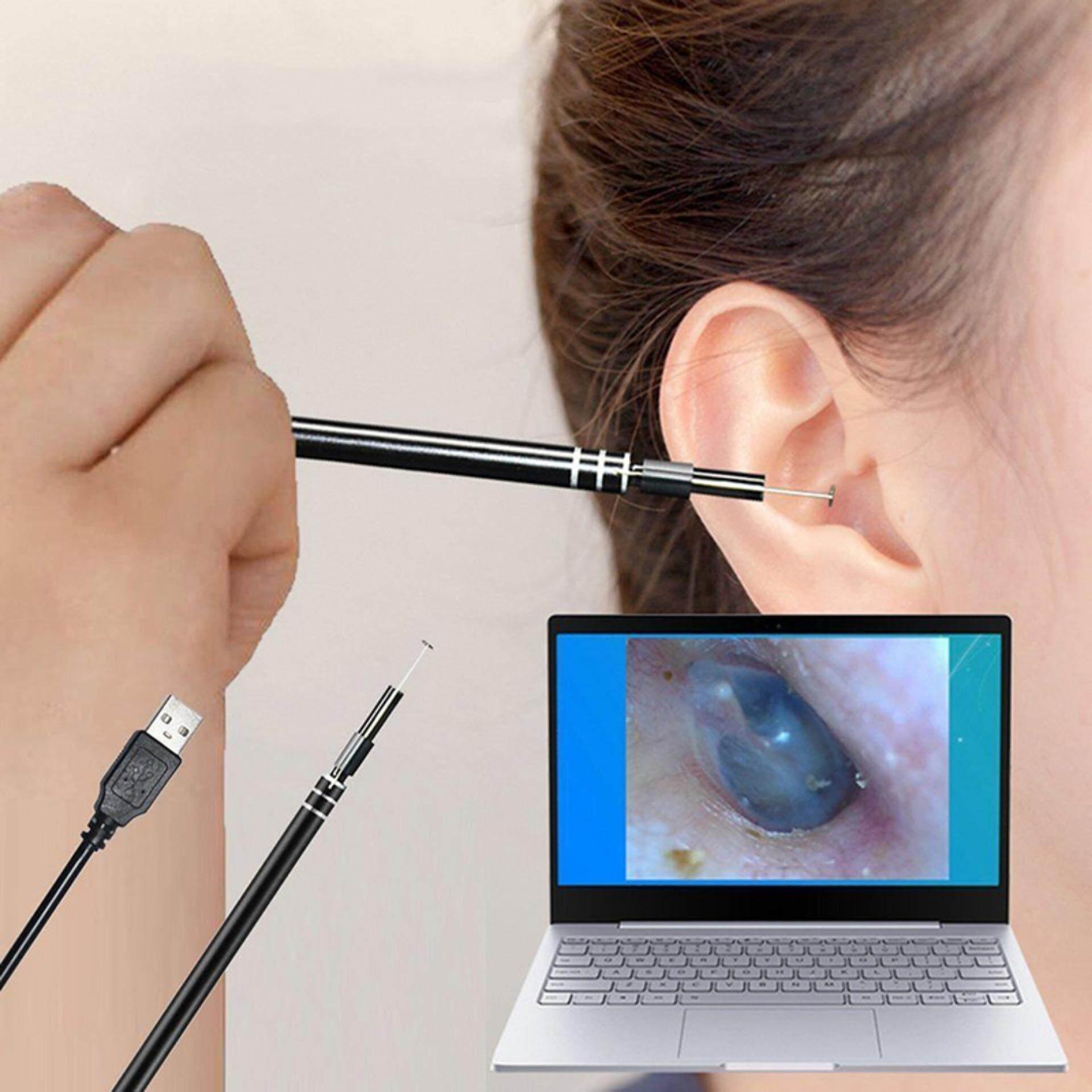 Usb Ear Cleaning Endoscope Hd Visual Ear Spoon Earpick With Mini Camera Qc