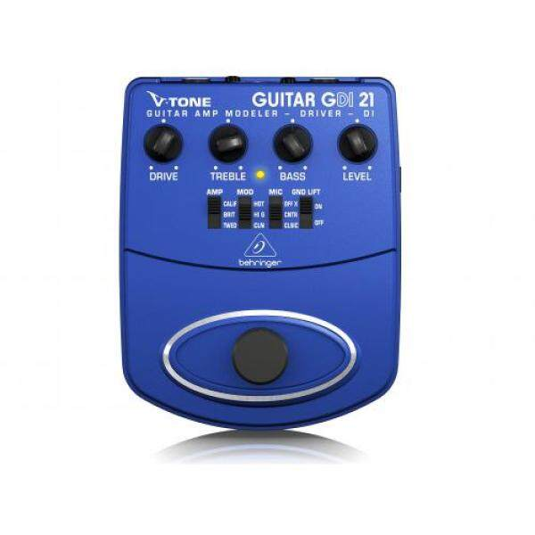 Analog guitar modeling preamplifier with Beringer DI output GDI21 V-TONE GUITAR DRIVER DI Malaysia