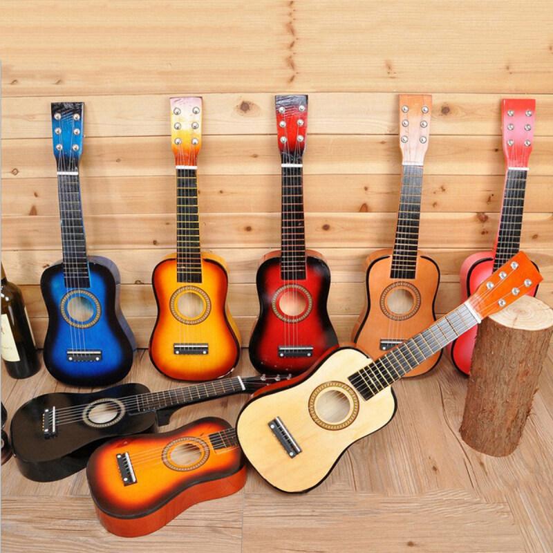 Ghi Ta Acoustic 6 Dây 25 Inch Người Mới Bắt Đầu Thực Hành Musical Instrument, Guitar Dây Cho Học Sinh Mới Bắt Đầu