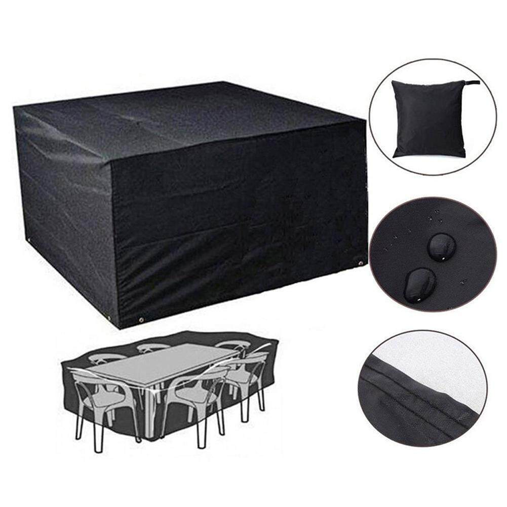 LARGE WATERPROOF PATIO BBQ COVER OUTDOOR GARDEN BARBEQUE GRILL STORAGE PROT