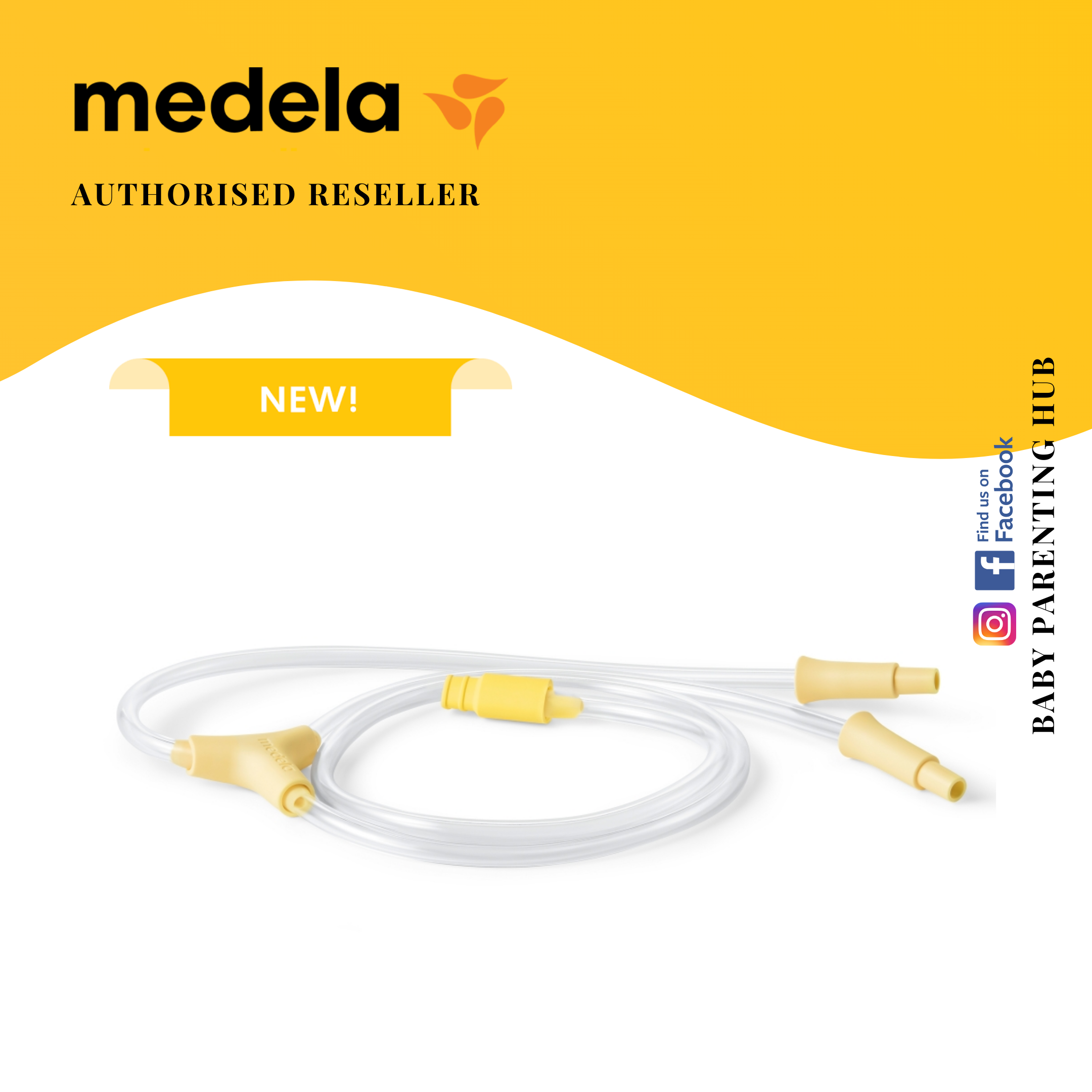 Medela Swing Maxi Pump Replacement Tubing FREE DELIVERY