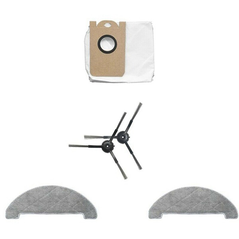 for VIOMI S9 Dust Bags Colletion Cleaner Mops Side Brushes Accessories Set for XIAOMI VIOMI S9 Robot Vacuum Cleaner