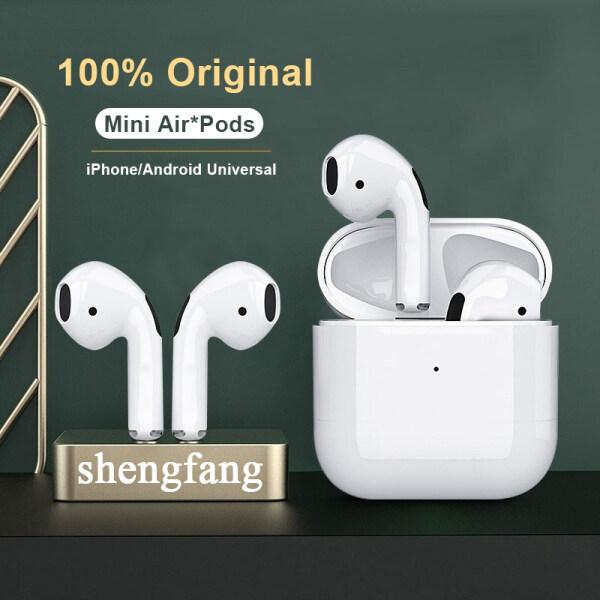 100% Original 4th Gen Mini Bluetooth Earphone Pro 4 TWS Wireless Earphone Sport Gaming Bluetooth Headphones Pro4 Earbuds for IOS Android phone Huawei Xiaomi Realme Oppo Vivo Singapore